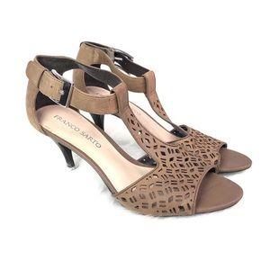 Franco Sarto open toe heels size 9.5